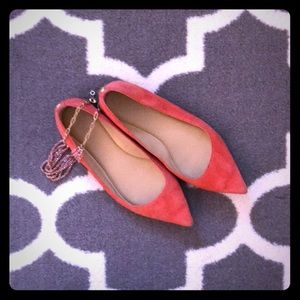 Michael Kors Coral Suede Points